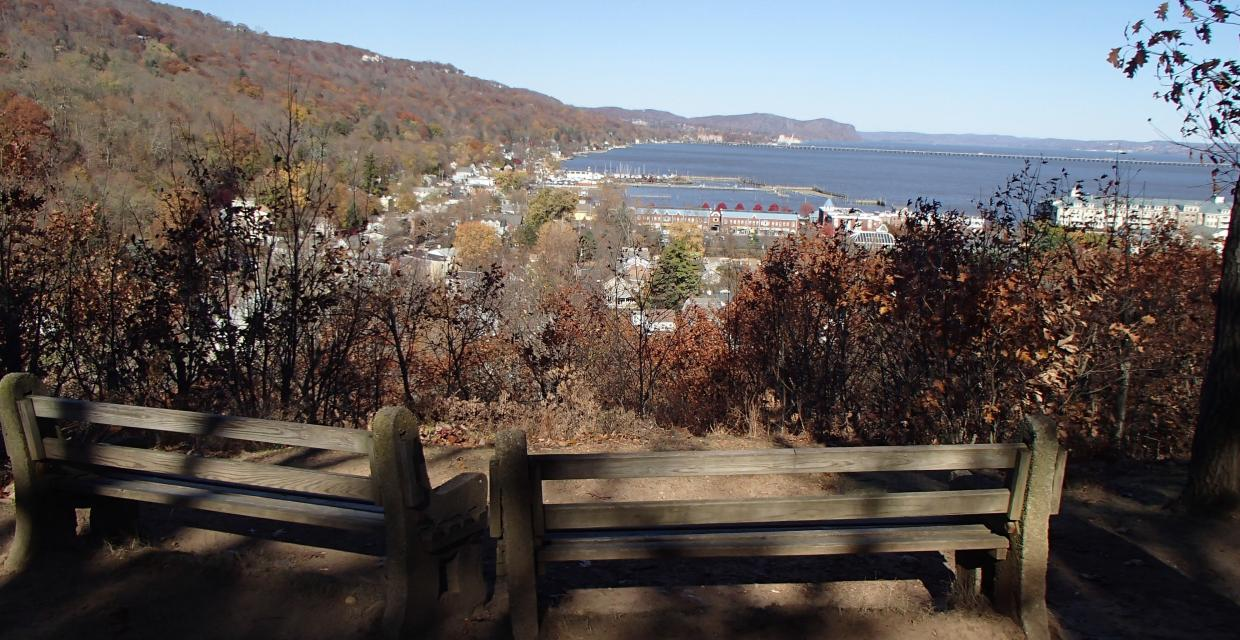 View of the Hudson River - Tallman Mountain State Park - Photo credit: Trail Conference