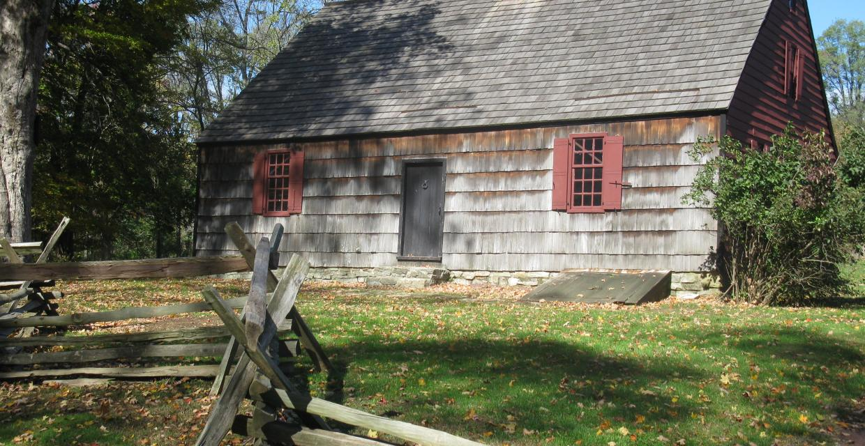 The Wick Farmhouse at Morristown National Historical Park. Photo by Daniel Chazin.