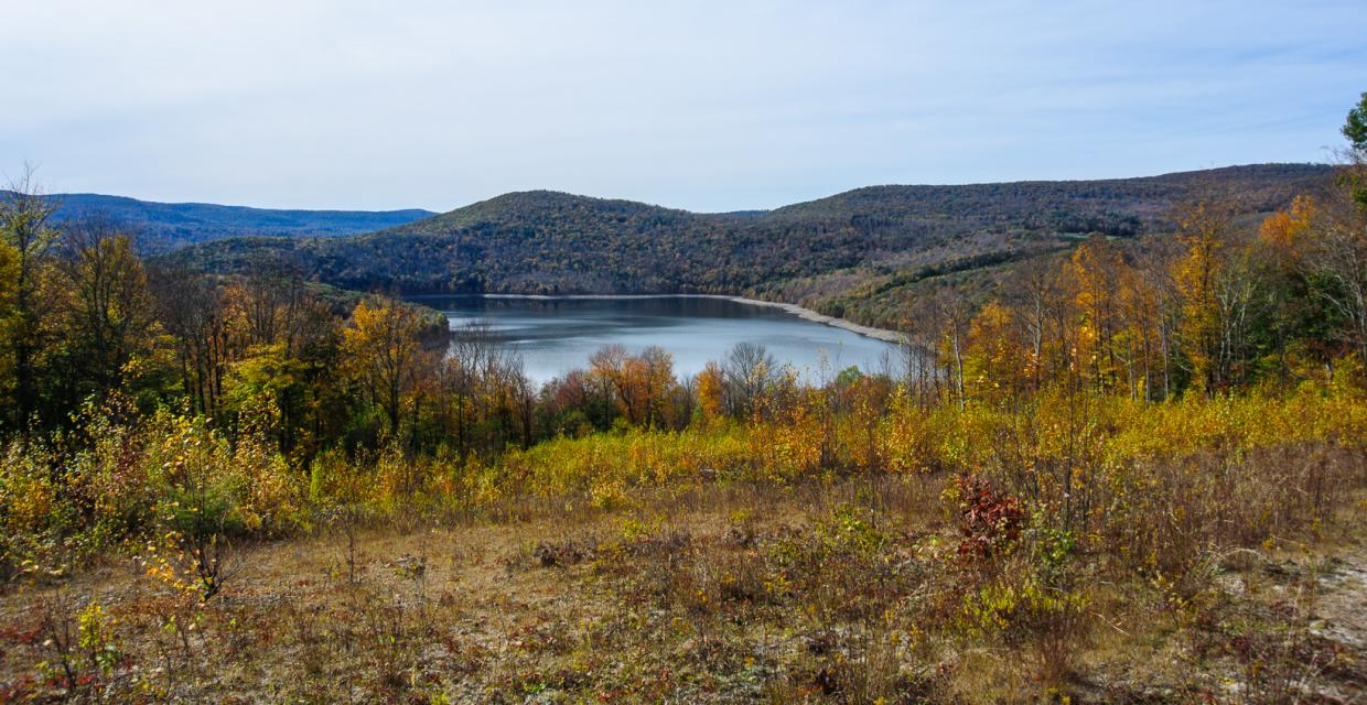 View of Pepacton Reservoir - Photo: Bill Roehrig