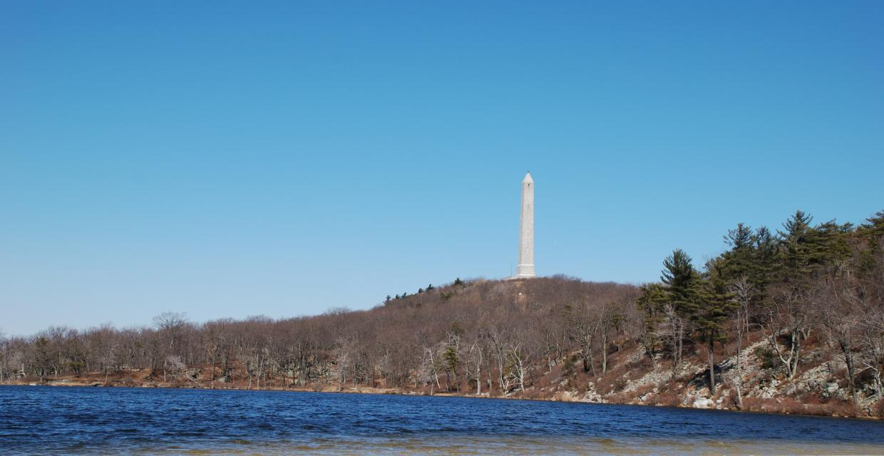 View of High Point Monument - High Point State Park - Photo credit: Jeremy Apgar