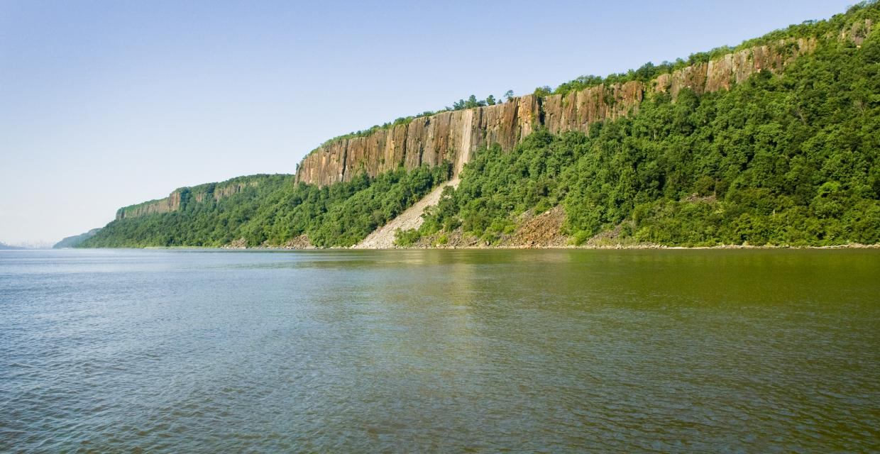 View of the Palisades Cliffs - Photo credit: Anthony Taranto