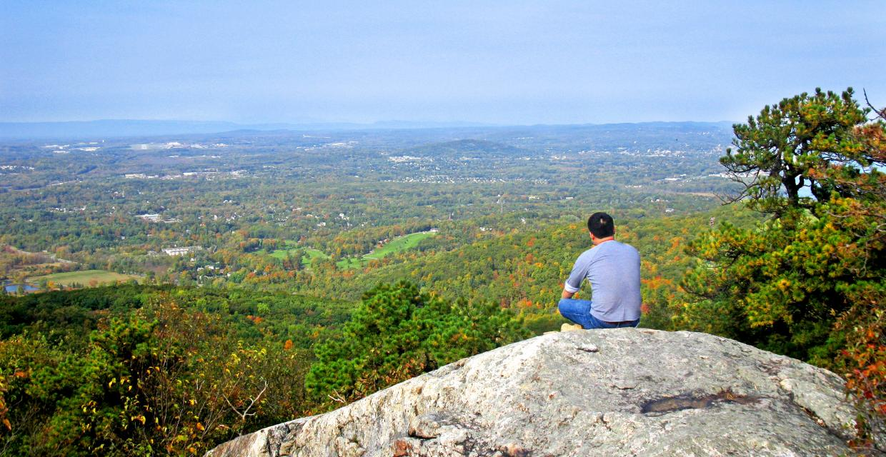 View from Black Rock Mountain - Photo credit: Daniel Chazin