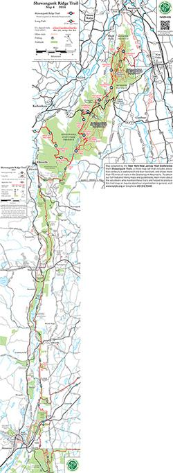 Shawangunk Ridge Trail (SRT) Maps
