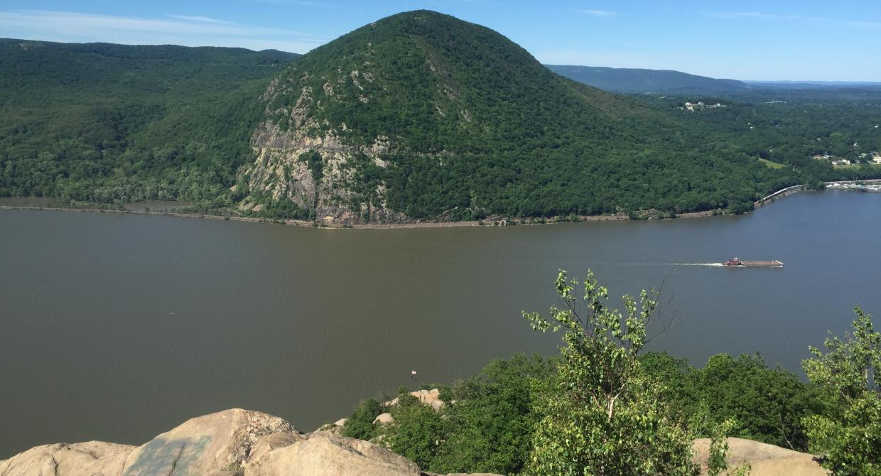 The view of Storm King from Breakneck. Photo by Kelly Lewis