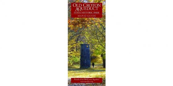 Old Croton Aqueduct Map and Guide: Westchester Cover