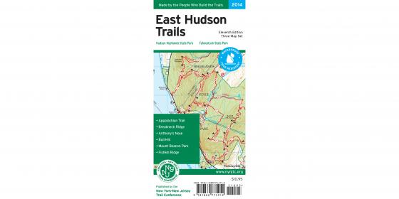 East Hudson Trails Map Cover