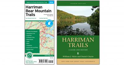 Harriman Map and Book Combo 2018