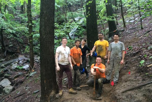 Help improve trails throughout the region during Trail Love days. Photo by Erik Mickelson.