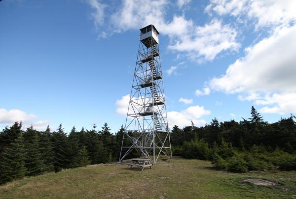 Hunter Mountain Fire Tower. Photo credit - Flickr/ke9tv: Kevin Kenny