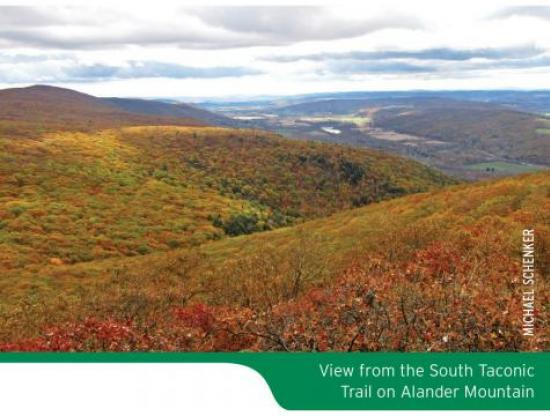 South Taconic Trails Map Scenic Photo
