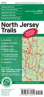 North Jersey Trails Map Set